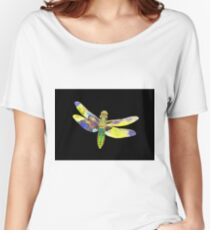 Psychedelic Dragonfly Women's Relaxed Fit T-Shirt