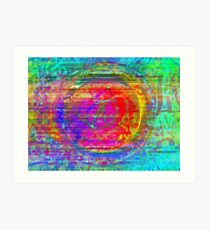 obtainable only through a balance of push and hold Art Print