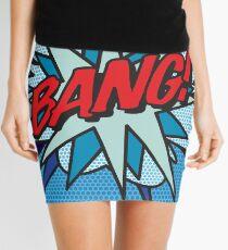 Comic Book Pop Art BANG! Mini Skirt
