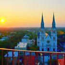 Savannah Sunrise by photorolandi