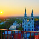 Savannah Sunrise by photorolandi