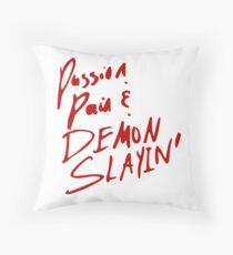 passion demon slayin Throw Pillow