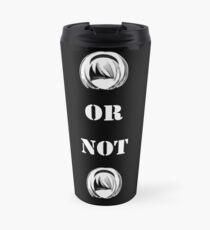 Nier Automata 2B or not 2B Travel Mug