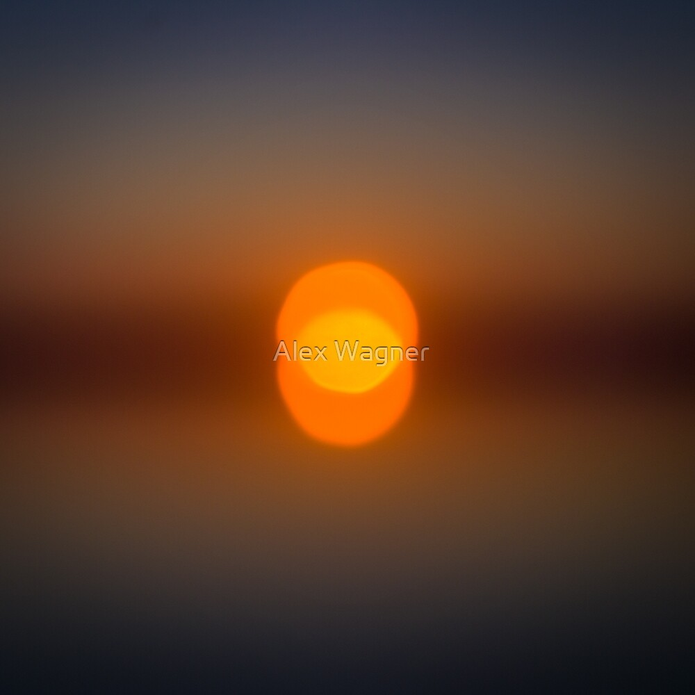 Blurred Sunset by Alex Wagner