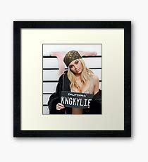 kim kardashian Framed Print