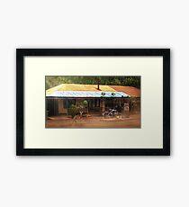 Roadhouse Framed Print