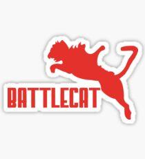 Battle Cat Sticker