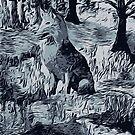 Old Fox of the Woods by Karen Harding