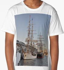 Tall Ships @ Darling Harbour, Sydney, Australia 2013. Long T-Shirt
