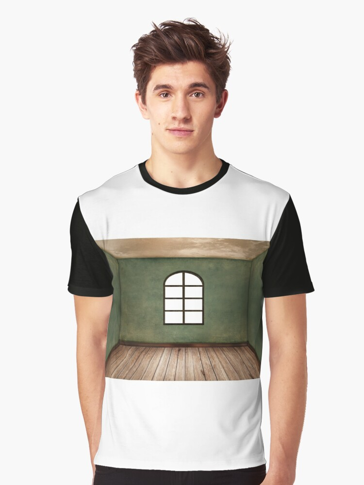Empty Room Graphic T-Shirt Front