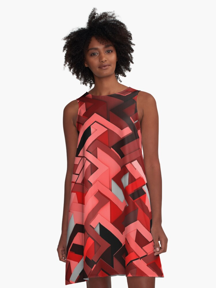 90 Degrees A-Line Dress Front