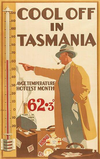 Cool off in Tasmania Australia by vintagetravel