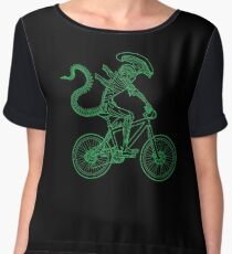 Alien Ride Chiffon Top