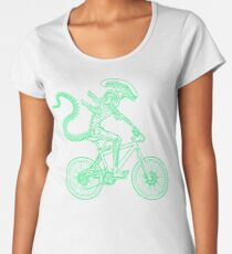 Alien Ride Women's Premium T-Shirt