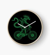 Alien Ride Clock