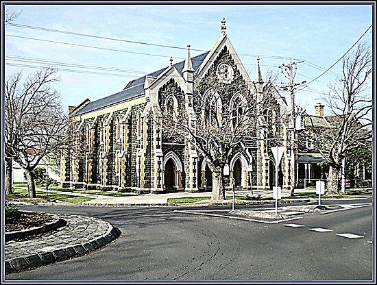 Methodist Church -  City of Williamstown - Vic. Australia by EdsMum