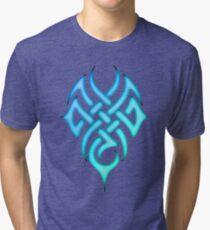 Triumph Tattoo Design Tri-blend T-Shirt