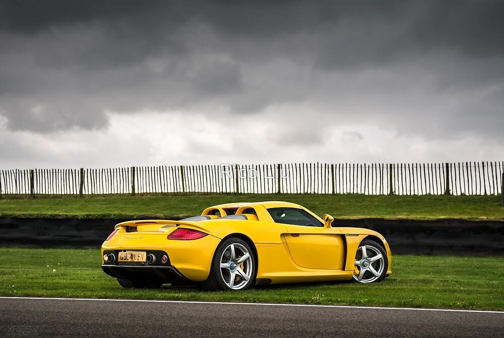 Yellow Carrera GT by Rico Liu