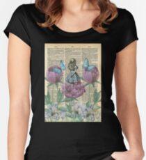 Alice In Wonderland - Wonderland Garden Women's Fitted Scoop T-Shirt