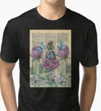 Alice In Wonderland - Wonderland Garden Tri-blend T-Shirt