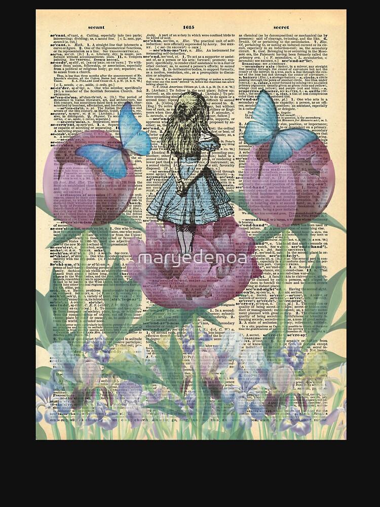 Alicia en el país de las maravillas - Wonderland Garden de maryedenoa