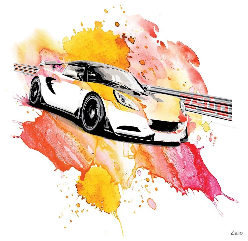 Zelio Lotus Elise S3 Explosion by Zelio
