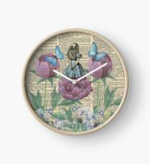 Alice In Wonderland - Wonderland Garden Clock