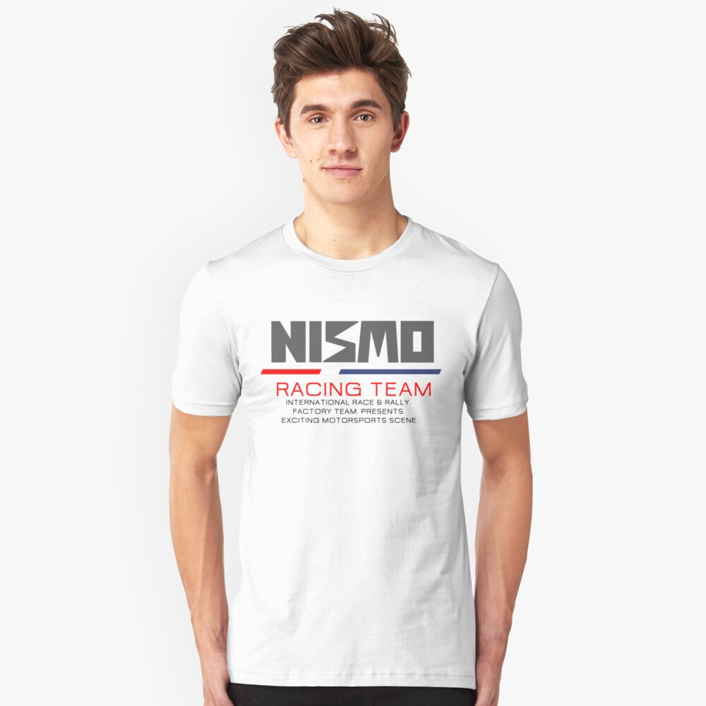 Nismo Racing Team Unisex T-Shirt Front