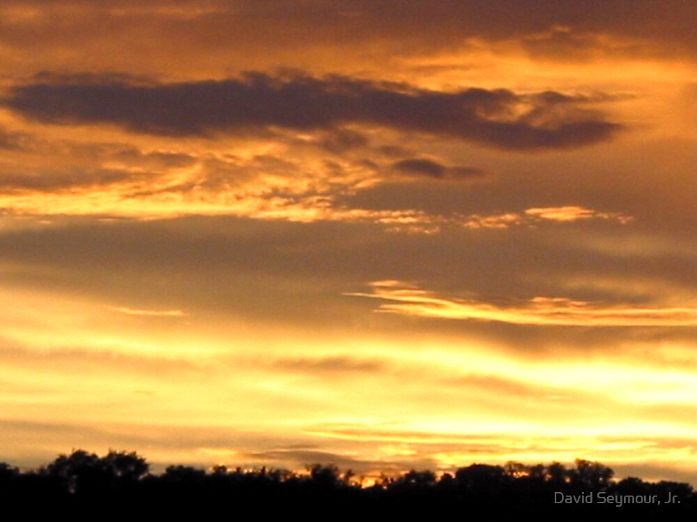 Texas Sunset #001 by David Seymour, Jr.