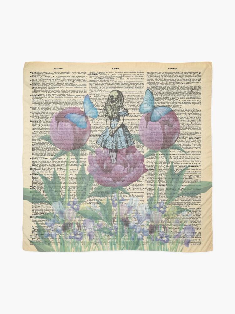 Vista alternativa de Pañuelo Alicia en el país de las maravillas - Wonderland Garden