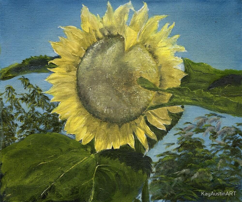 Sunflower by KayAustinART