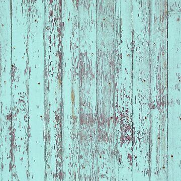 Turquoise wood by fourretout