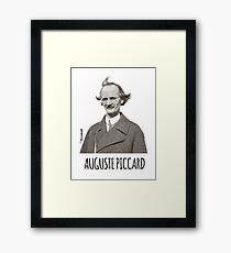 Auguste Piccard Framed Print
