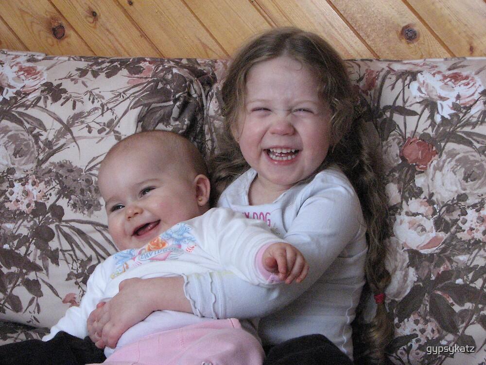 My Little Granddaughters....My Angels by gypsykatz