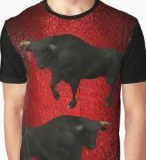 """BLACK BULLS FROM SPAIN"" Graphic T-Shirt"