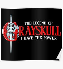 The legend of grayskull Poster