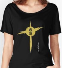 Kanji, Japanese characters. Salvation Women's Relaxed Fit T-Shirt