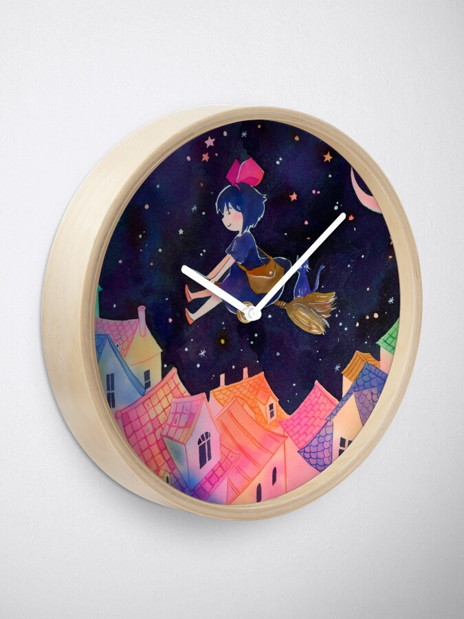 Alternate view of Little Witch Sleepy Time Clock