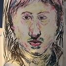 Copy of Turner's self-portrait -(070517)- Mixed media/White paper by paulramnora