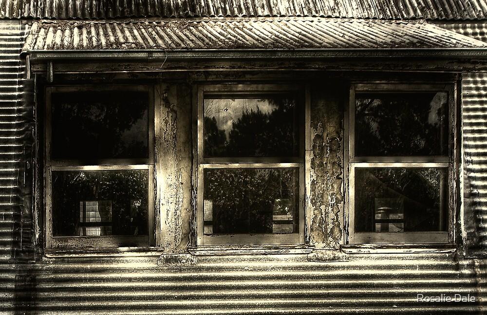 Collaboration - Barracks Windows by Rosalie Dale