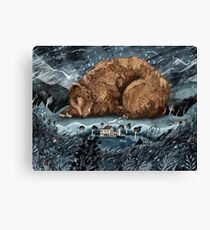 The Lake House Canvas Print