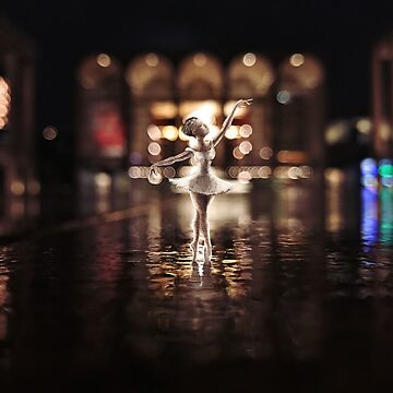 ballerina - lincoln center by Confuseddoodles