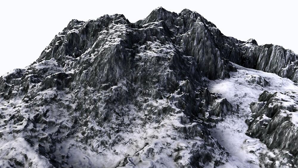 Snowy Mountain by Ganz