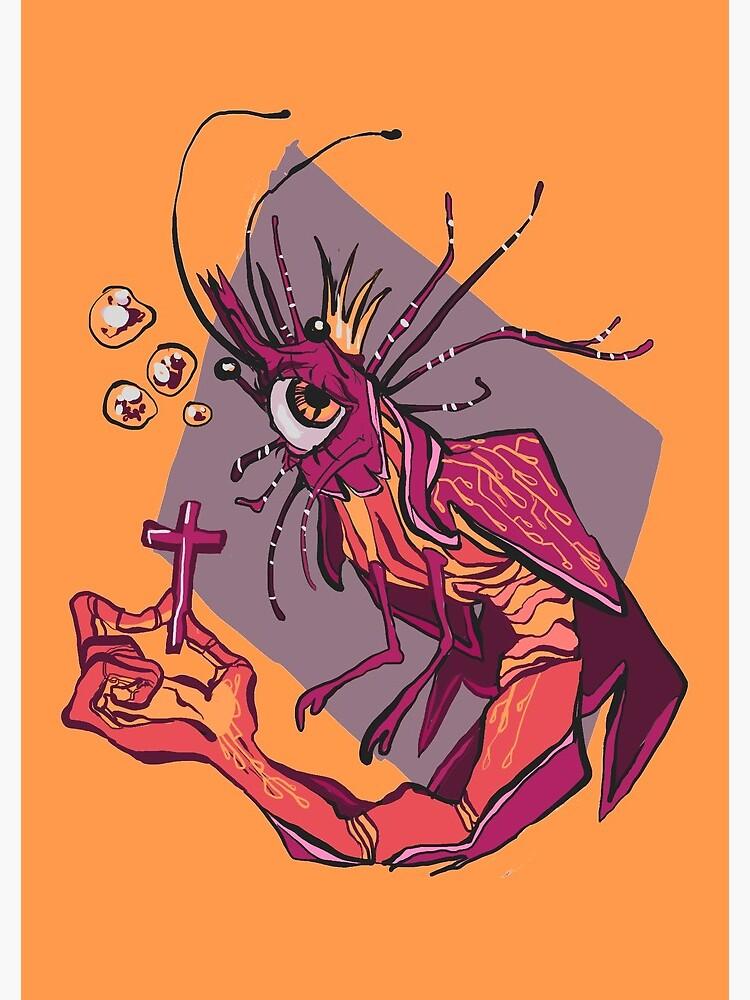 shrimp angel | Spiral Notebook