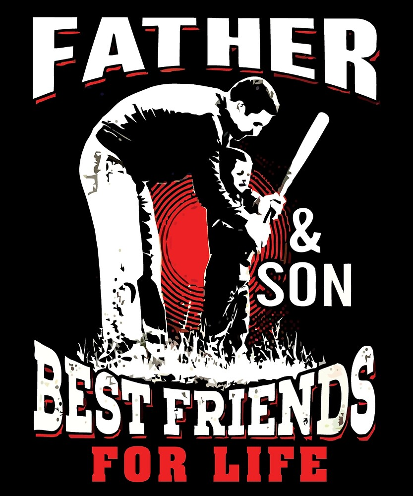 FATHER AND SON BASEBALL T Shirt by chihai