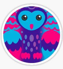 Androgyne Pride Owl Sticker