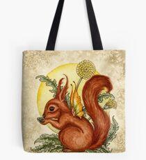 Fairy Squirrel Tote Bag