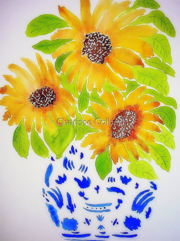 Sunflowers II by Charisse Colbert