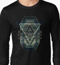 Tesla Portal - Dark stargate Long Sleeve T-Shirt