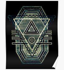 Tesla Portal - Dunkles Sternentor Poster